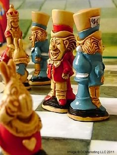 Alice In Wonderland Chess