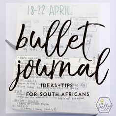 Five Bullet Journal Ideas and Tips for South Africans