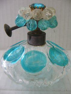2 Vintage Perfume Bottles I w Rice Bijan | eBay
