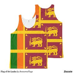 Flag of Sri Lanka All-Over Print Tank Top