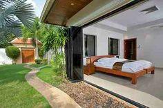 Thai villa bedroom