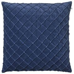 Deva kuddfodral, blå i gruppen Textil / Plädar & Prydnadskuddar…