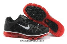 I just like this Black/Sport Red/Silver Nike Air Max 2011 Boys