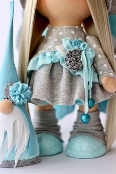 Купить Гномы и эльфы - эльф, сказка, коллекционная кукла, подарок, кукла, текстильная игрушка, для девочки