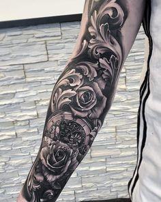 restante da tattoo - restante da tattoo You are in the right place about restante da tattoo Tattoo Design And Style Galle - Forarm Tattoos, Forearm Sleeve Tattoos, Tribal Sleeve Tattoos, Tattoos Skull, Tattoo Sleeve Designs, Rose Tattoos, Leg Tattoos, Body Art Tattoos, Tattoos For Guys