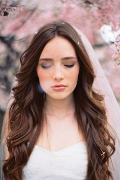 Wavy Long Hair Natural Wavy Long Hair for Wedding -hopefully when the time comes for my wedding my hair will be this long!