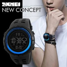 SKMEI CONQUER Sports Watch for Men //Price: $20.99 & FREE Shipping //   https://www.freeshippingwatches.com/shop/skmei-conquer-sports-watch-for-men/    #watch