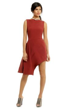 Rent Asymmetric Flow Dress by Opening Ceremony for $85 only at Rent the Runway.