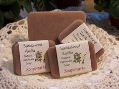 Sandalwood Vanilla Handmade Soap