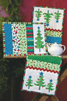 Cute Christmas placemats