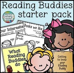 Everything a teacher needs to start a #ReadingBuddies program, and more!