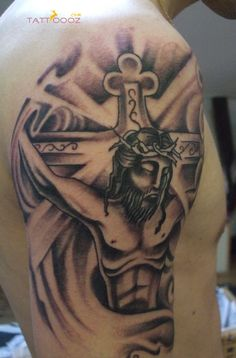 98 Amazing Jesus Tattoos for Men, 70 Mind Blowing Jesus Tattoos for Chest, 55 Best Arm Tattoo Ideas for Men the Trend Spotter, 100 Jesus Tattoos for Men Cool Savior Ink Design Ideas, 81 Awesome Sleeve Tattoos Catholic Cool Tattoo Designs. Tribal Tattoo Designs, Tribal Tattoos, Pisces Tattoo Designs, Fairy Tattoo Designs, Heart Tattoo Designs, Dragon Tattoo Designs, Tattoo Designs And Meanings, Tattoo Sleeve Designs, Tattoos With Meaning