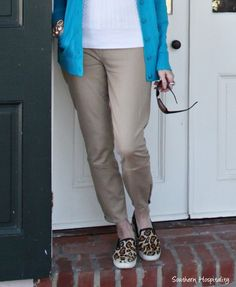 khaki riding pants-Rhoda's fashion over 50!