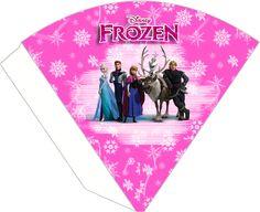 Kit de Frozen en Rosa para Imprimir Gratis. | Ideas y material gratis para…