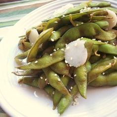 "Garlic Teriyaki Edamame | ""I love edamame and this recipe was a nice change for the same way I always make."""