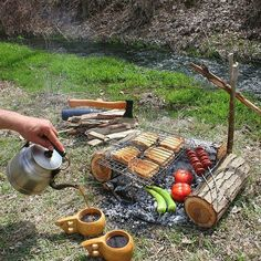 Preparing breakfast and having fun doing it. Double tap the image to show the love. Visit Survival Life TODAY for more bushcrafting facts and survival news. Click the Repost and image from