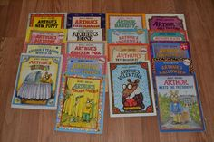 Arthur Books Marc Brown, Lot of 17, paperback, DW, Homeschool, Picture Book