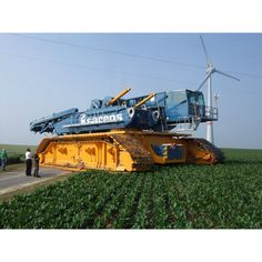 I assume this machine is something to install wind turbines....Anyone know what it is?