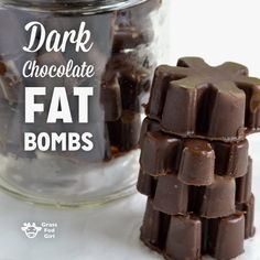 low carb ketogenic fat bombs with dark chocolate