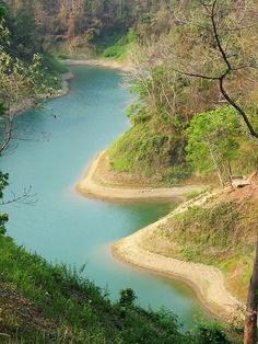 Kaptai Lake- Chittagong, Bangladesh