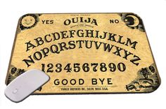 Ouija Board Mouse Pad by FutureSales on Etsy