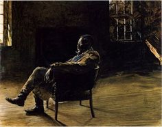 Monologue by Andrew Wyeth