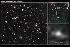 Hubble Ultra Deep Field 2009-2010