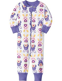 Night Night Baby Sleepers In Pure Organic Cotton from #HannaAndersson.