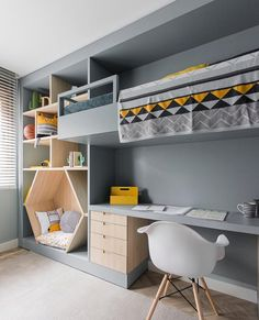 Bedroom İdeas For Each Child - 30 Fabulous Room Ideas For Children Who Love Colors New 2019 kids room; kids room ideas for boys; room ideas for boys Kids Room Design, Home Design, Design Ideas, Kids Bedroom Designs, Wall Designs For Bedroom, Hall Room Design, Cool Room Designs, Playroom Design, Design 24