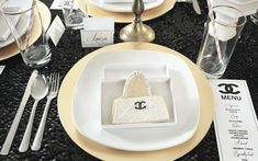 Coco Chanel Birthday Party Ideas | Photo 7 of 20 | Catch My Party