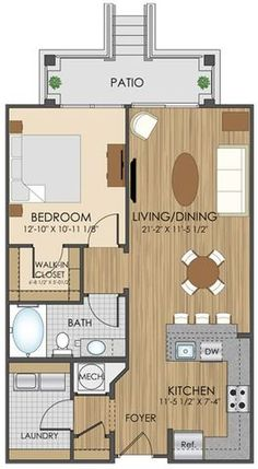 Apartment Plans studio-apartment-plan-and-layout-design-with-storage  | floor