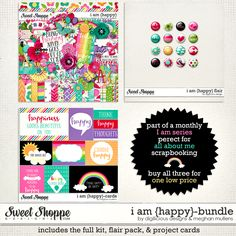 I Am {Happy} BUNDLE by Digilicious Designs and Meghan Mullens