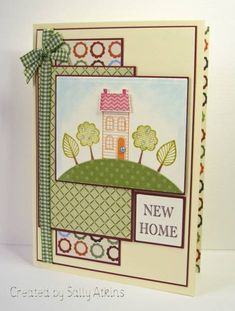 Good Neighbors Stamp Set from Sale A Bration SC279 New Home by ApricotRose - Cards and Paper Crafts at Splitcoaststampers
