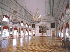 peterhof palace interior/images | The Great Peterhof Palace. The Throne Room - Peterhof ...