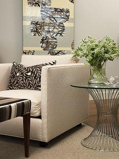 Sarah Richardson Design - Penthouse Condo - Living Room
