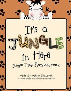 It's going to be WILD in your new JUNGLE classroom. Pack includes bulletin board decor, jungle alphabet, pennant banners, calendar accessories, wor...