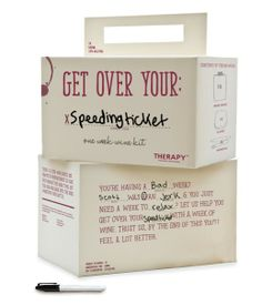 "I like this idea to create boxes your can customize with your ""dreams""... ""I am using this opportunity to be a ____- (ballerina., traveler, etc.) Self promotion idea. Love this- clever concept! Send to a client after they complain to you about about something that happened in their day. Fun and you are relationship building."
