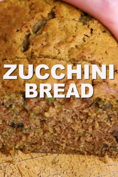 May 2019 - Best easy zucchini bread recipe! Makes two loaves of moist, perfectly spiced zucchini bread. Includes tips make amazing bread. Zucchini Bread Muffins, Gluten Free Zucchini Bread, Zucchini Bread Recipes, Zucchini Fries, Zucchini Bread Recipe With Butter, Banana Zucchini Bread Healthy, Zucchini Pineapple Bread, Zuchinni Bread, Recipe Zucchini