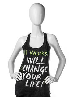 It Will Change Your Life Shimmer Tank