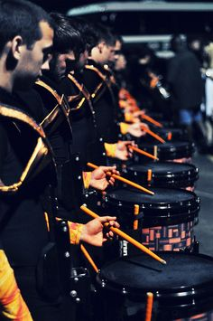 """Rhythm X snare line for their 2010 show """"Inspired"""""""