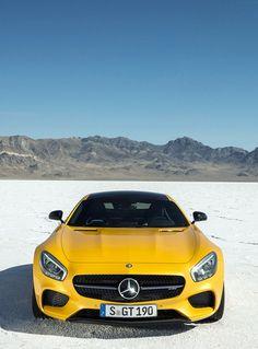 2016 Mercedes-AMG GT - Yellow Car