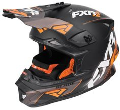 SHELL - Super-Lite composite fiber shell constructed of aerospace grade Carbon Fiber, Kevlar®, & lightweight fiberglass VISOR - Adjustable Ultra Hi-Flow shape reduces drag & protects from snow & roost
