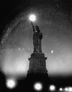 New York City - Statue of Liberty, 1942 - by Andreas Feininger