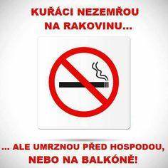 Kuřáci nezemřou na rakovinu...ale umrznou před hospodou, nebo na balkóně! Carpe Diem, Awkward, Humor, Jokes, Letters, Funny, Africa, Husky Jokes, Humour