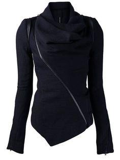 asymmetric jacket
