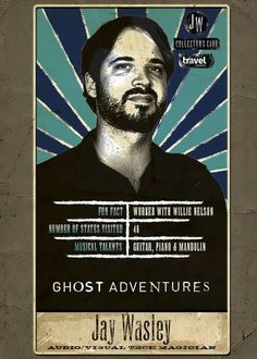We see lots of spooky fun in your future, Ghost Adventures fans! Collect these tarot cards featuring Zak Bagans and the crew and make sure to tune into this year's Halloween special, Route Ghost Adventures Funny, Ghost Adventures Zak Bagans, Jay Wasley, Ghost Hunters, Cute Ghost, Haunted Places, Guy Names, American Horror Story, Tarot Cards