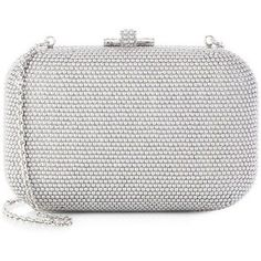 Judith Leiber Pearl-Studded Box Clutch