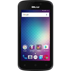Unlocked BLU - Advance 4.0M with 4GB Memory Cell Phone - Blue