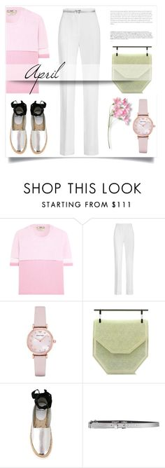 """""""April"""" by pattykake ❤ liked on Polyvore featuring Fendi, Givenchy, BoConcept, Emporio Armani, M2Malletier, Pierre Hardy and Just Cavalli"""