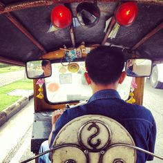 Bangkok travel- tuk tuk